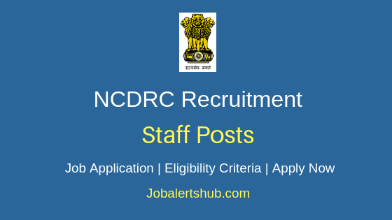 NCDRC Staff Job Notification