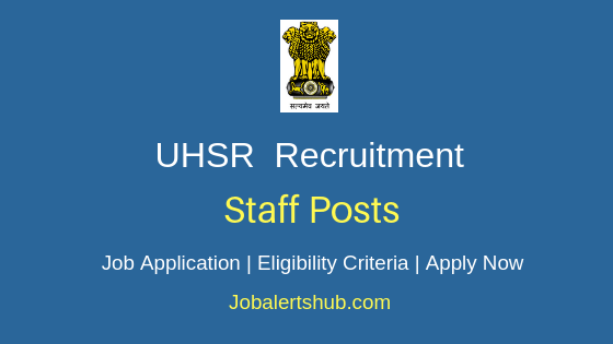 UHSR Teaching Job Notification