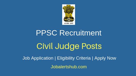PPSC Civil Judge Job Notification