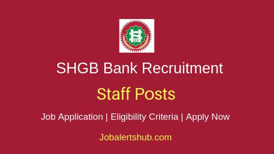 SHGB Staff Job Notification