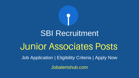 SBI Junior Associates Job Notification