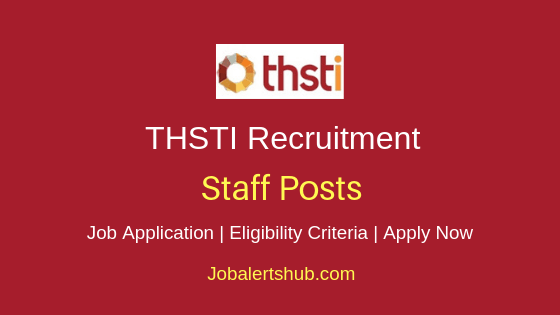 THSTI Staff Job Notification