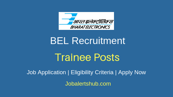 BEL Trainee Job Notification