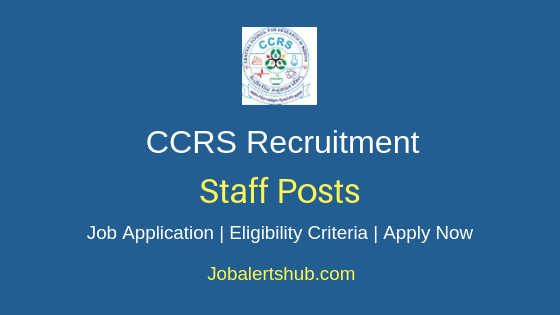 CCRS Staff Job Notification