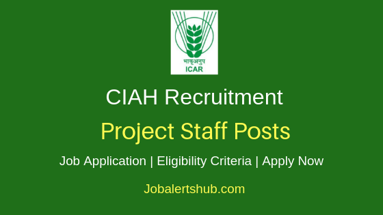 CIAH Project Staff Job Notification