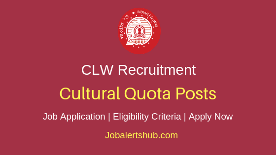 CLW Cultural Quota Job Notification