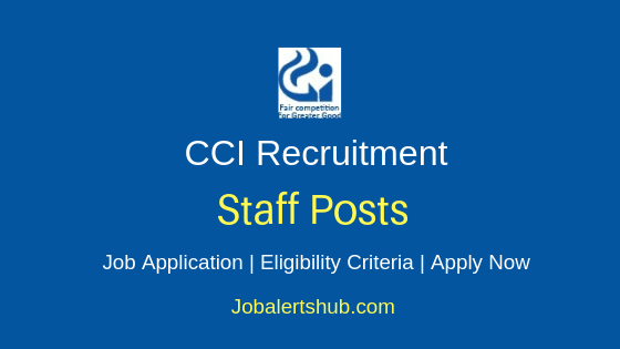 CCI Staff Job Notification