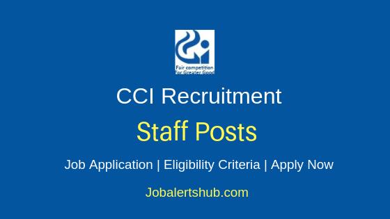 CCI Research Associates/Professionals/Experts 2019 Jobs