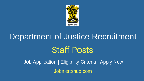 DOJ Staff Job Notification