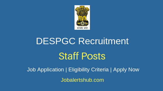 DESPGC Staff Job Notification