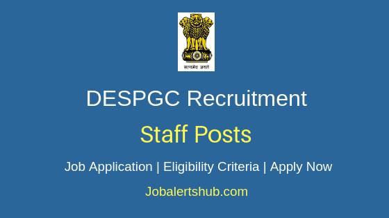 DESPGC Staff Job Notification