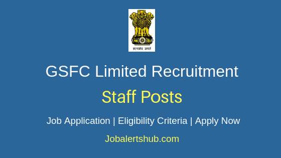 GSFC Limited Staff Job Notification