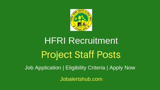 HFRI Project Staff Job Notification