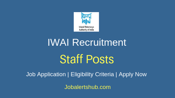 IWAI Staff Job Notification