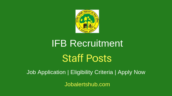 IFB Staff Job Notification