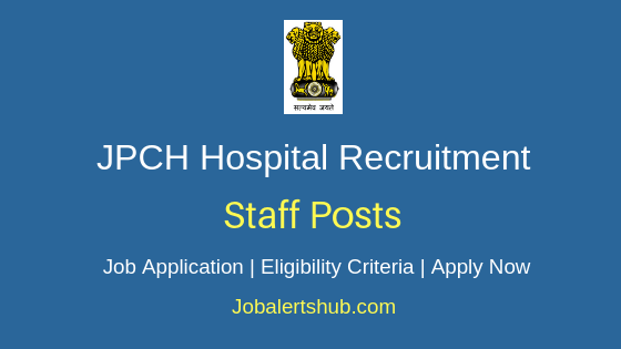 JPCH Staff Job Notification