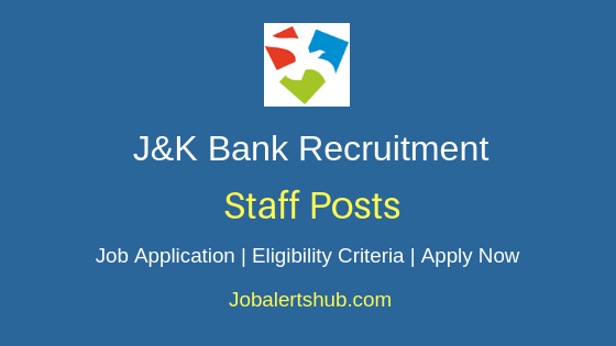 J&K Bank Staff Job Notification