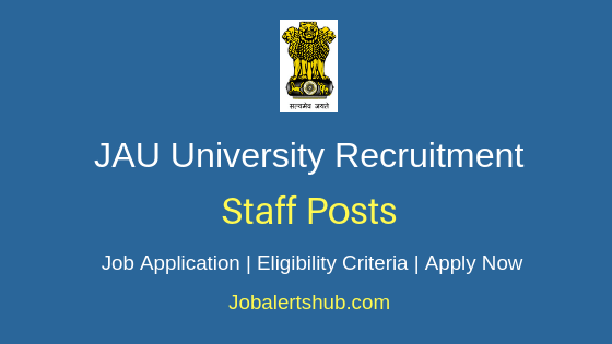 JAU University Staff Job Notification