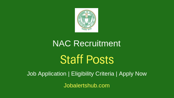 NAC Staff Job Notification
