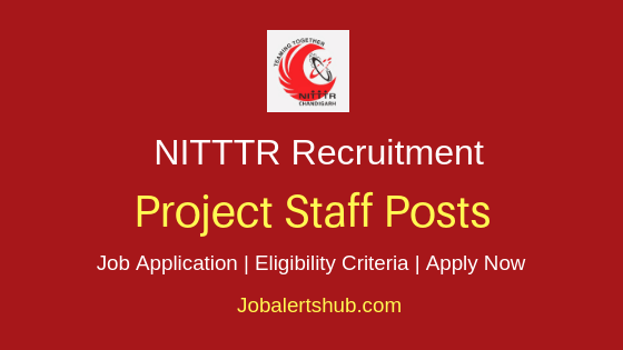 NITTTR Project Staff Job Notification