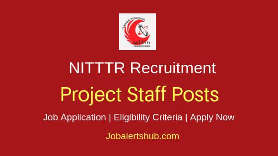 NITTTR Project Staff Job Notification