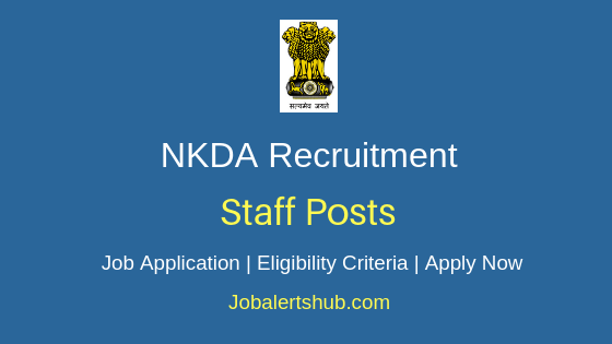 NKDA Staff Job Notification