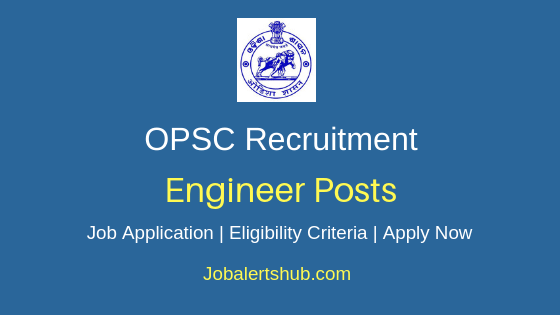 OPSC Engineer Job Notification