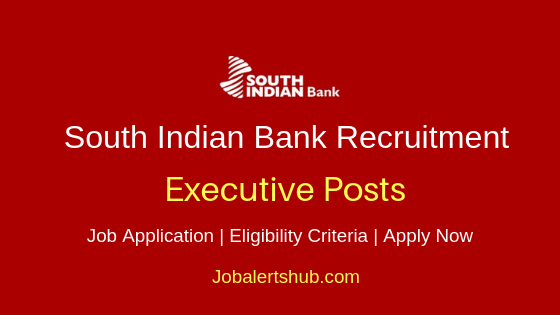 SIB Executive Job Notification