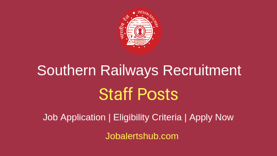 Southern Railways Staff Job Notification