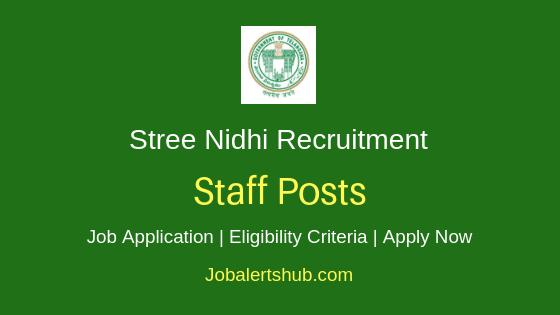 Stree Nidhi Staff Job Notification