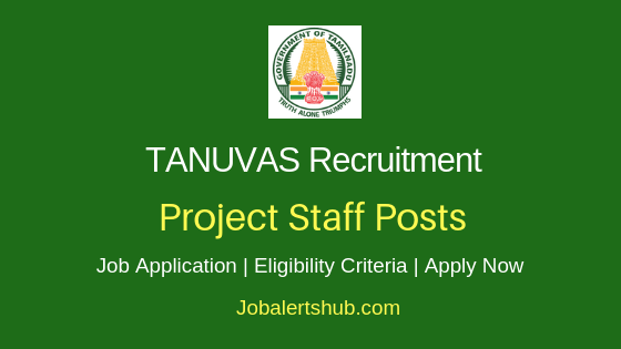 TANUVAS Project Staff Job Notification