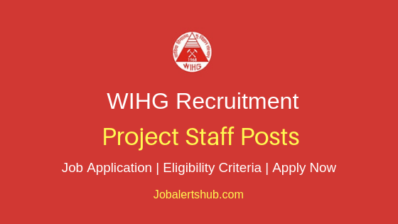 WIHG Project Staff Job Notification