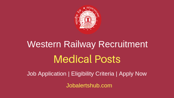 Western Railway Medical Staff Job Notification