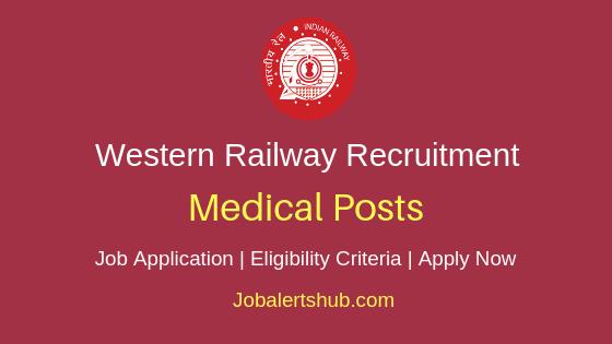 Western Railway Medical Staff Job Notification