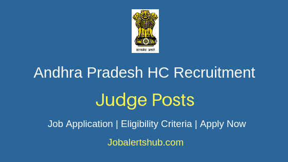 AP High Court Judge Job Notification