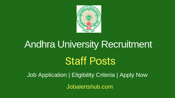 AU University Staff Job Notification