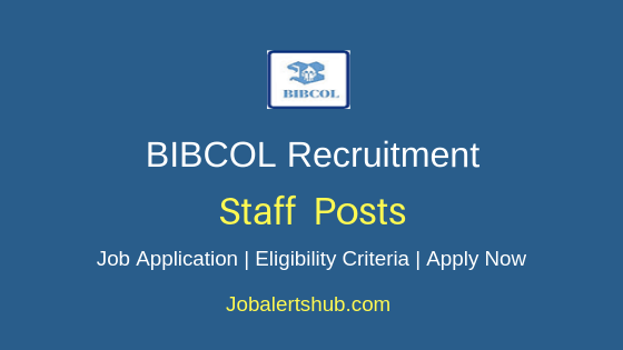 BIBCOL Staff Job Notification