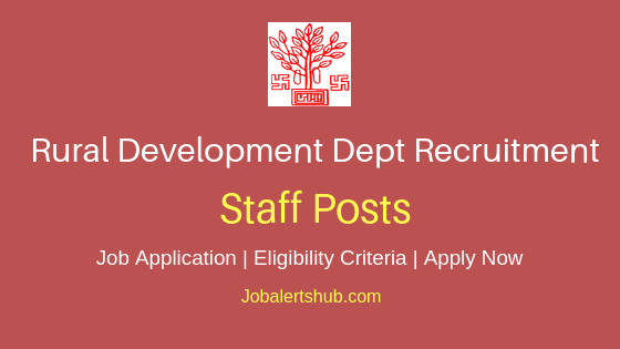 Bihar RDD Staff Job Notification