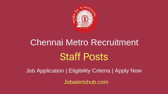 CMRL Staff Job Notification
