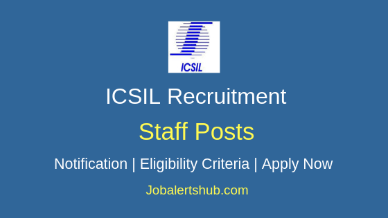ICSIL Staff Job Notification