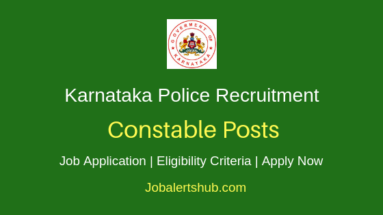 KSP Constable Recruitment