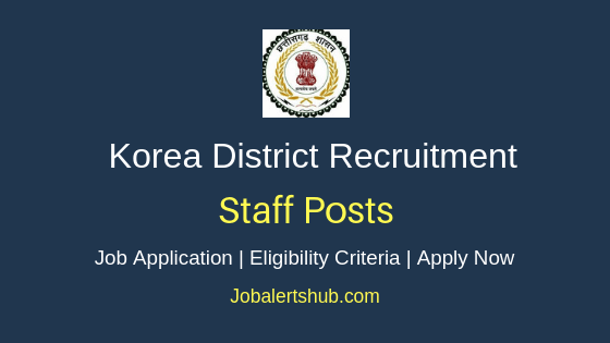 Korea District Staff Job Notification