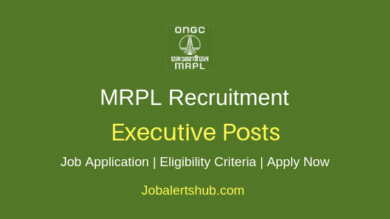 MRPL Executive Job Notification