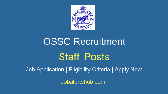 OSSC Staff Job Notification
