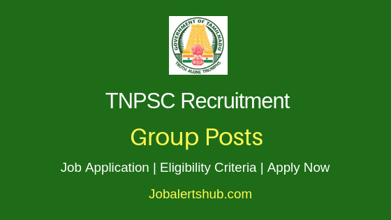 TNPSC Group Job Notification