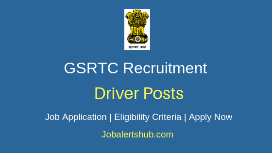 GSRTC Driver Job Notification
