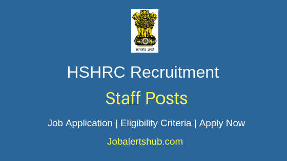 HSHRC Staff Job Notification