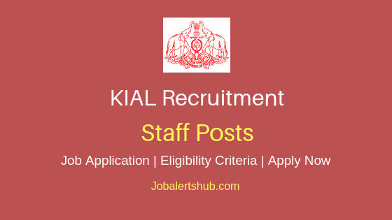 KIAL Staff Job Notification
