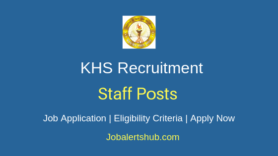 KHS Staff Job Notification
