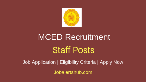 MCED Staff Job Notification